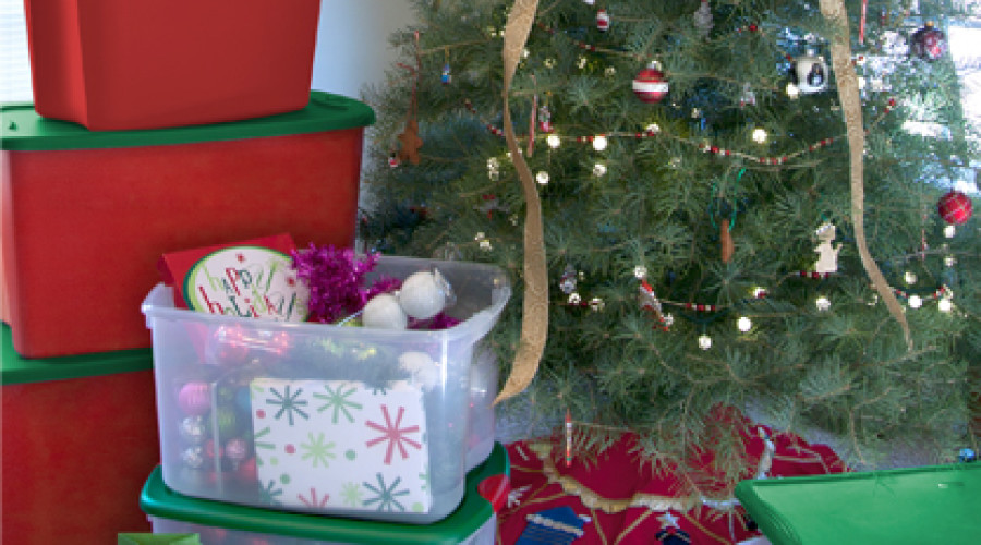 4 Ways a Storage-On-Site Unit can make the Holiday's a little brighter!